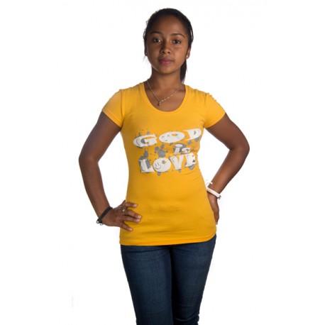 Body femme jaune