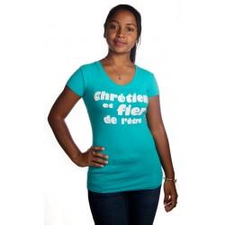 Body femme Chrétien et fier de l'être