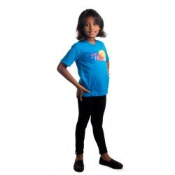 T-shirt Enfant de Dieu bleu